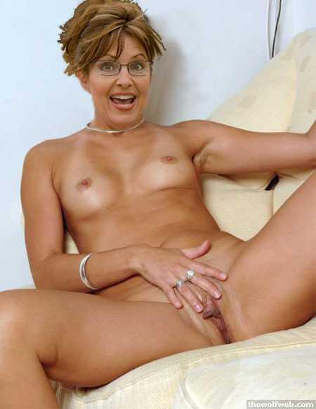 Sarah Palin nue la vice-prsidente des USA nue